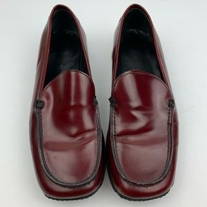 Vintage Coach Leather Rita Loafers